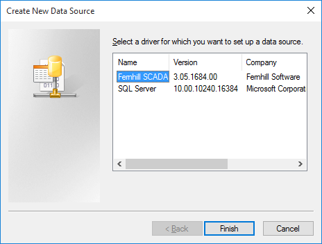 Setting up an ODBC System Data Source Name (DSN)