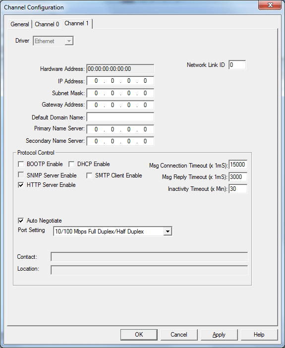 Allen Bradley MicroLogix 1100 Connection Guide