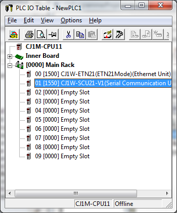 Omron CS/CJ Serial Port Connection Guide