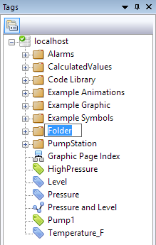 Fernhill SCADA Getting Started - Tags and Folders
